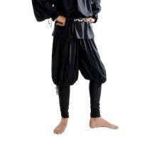 Captain Cottuy Black Pirate Swordsman Pants
