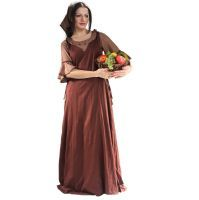 Amah Sideless Surcoat Gown