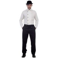 Steampunk Architect Pants in Black