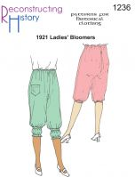 1921 Ladies' Bloomers Pattern by Reconstructing History