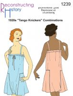 1920s Tango Knickers Combinations Pattern by Reconstructing History