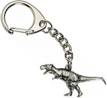 T-Rex Key-Ring - Pewter